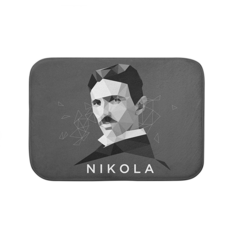 Nikola Home Bath Mat by ToySkull
