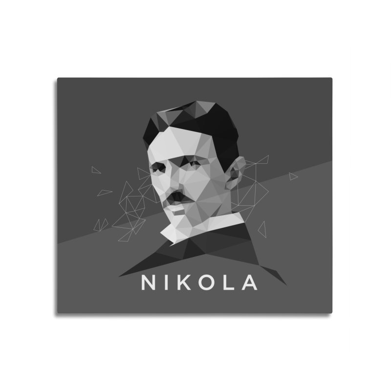 Nikola Home Mounted Acrylic Print by ToySkull
