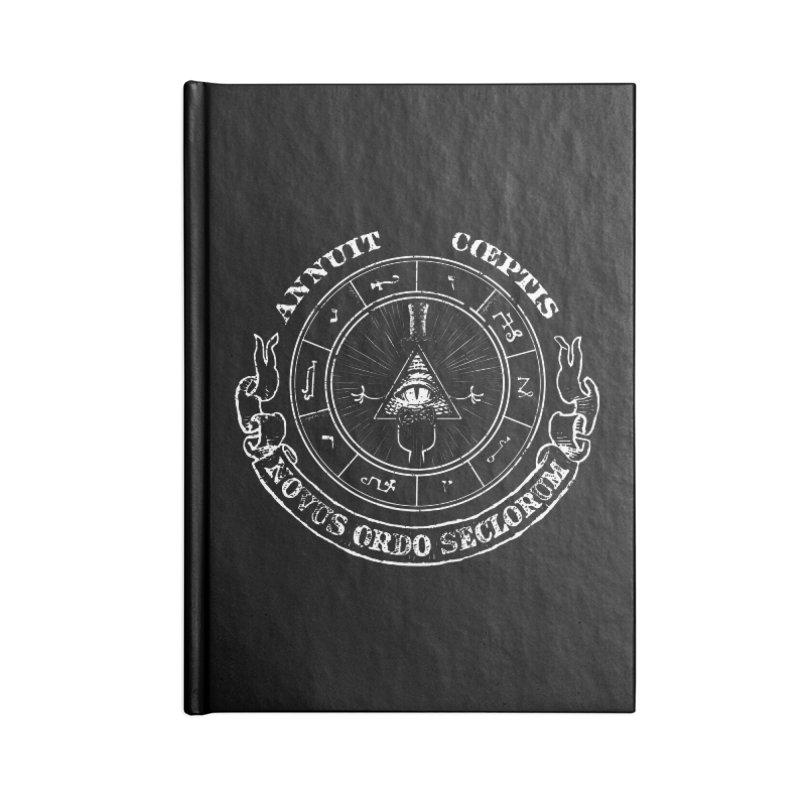 Dollar Bill Accessories Notebook by ToySkull