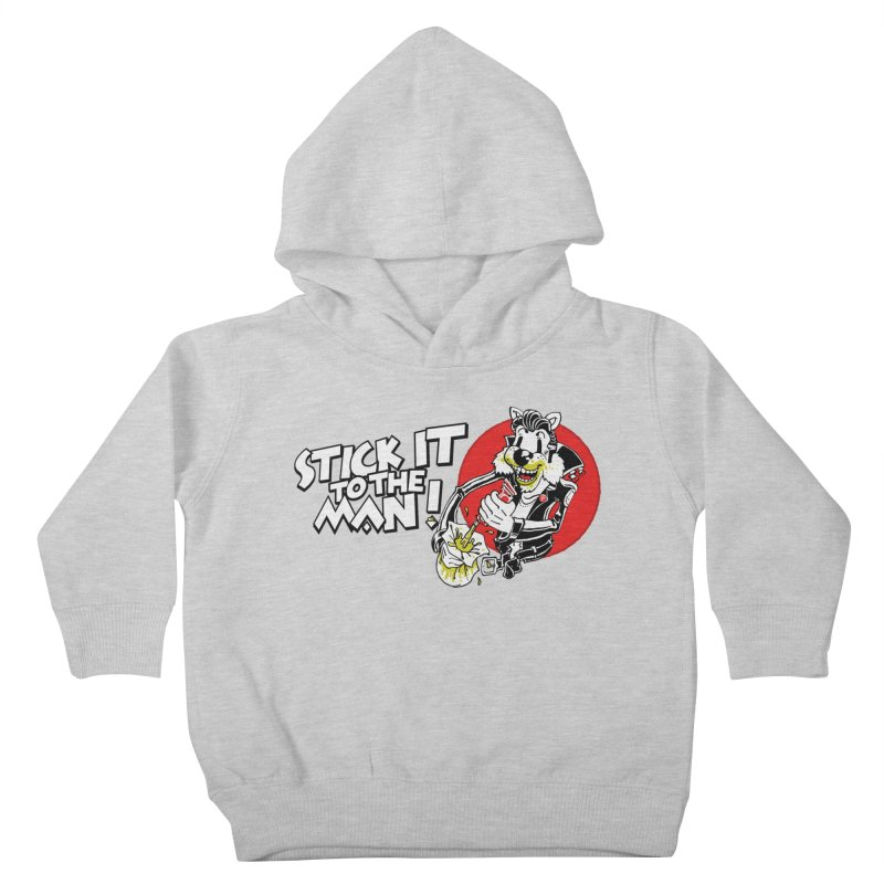 Stick It To The Man Kids Toddler Pullover Hoody by ToySkull