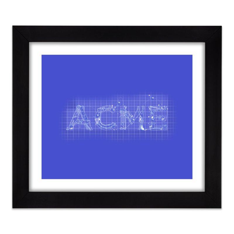 ACME Co. Home Framed Fine Art Print by ToySkull