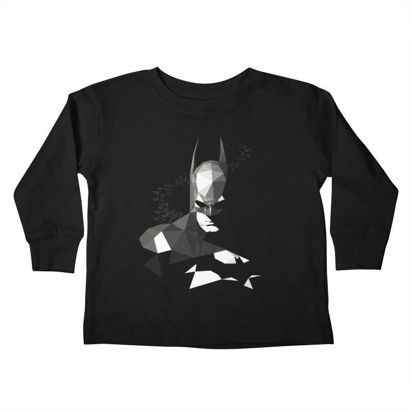 Bat Detective Kids Toddler Longsleeve T-Shirt by ToySkull