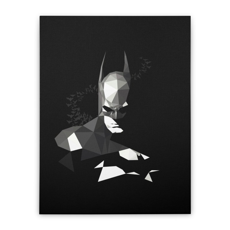 Bat Detective Home Stretched Canvas by ToySkull