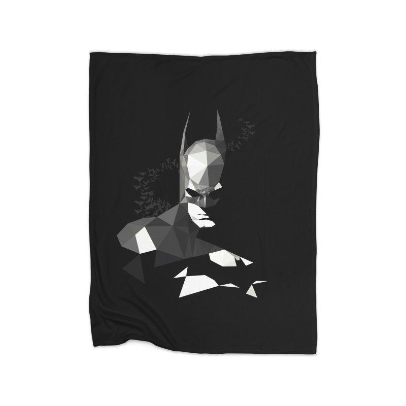 Bat Detective Home Blanket by ToySkull