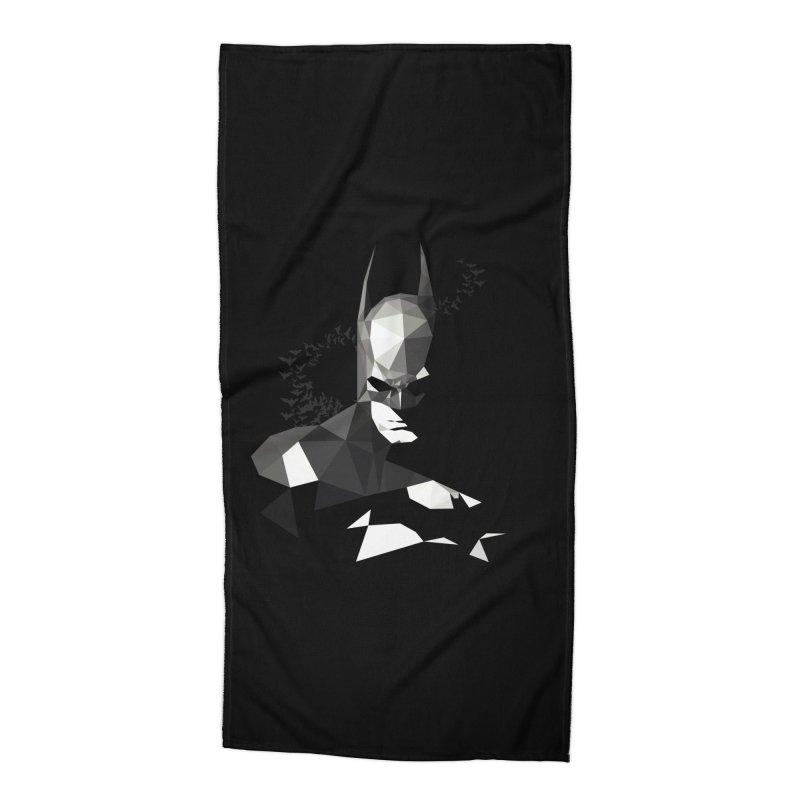 Bat Detective Accessories Beach Towel by ToySkull