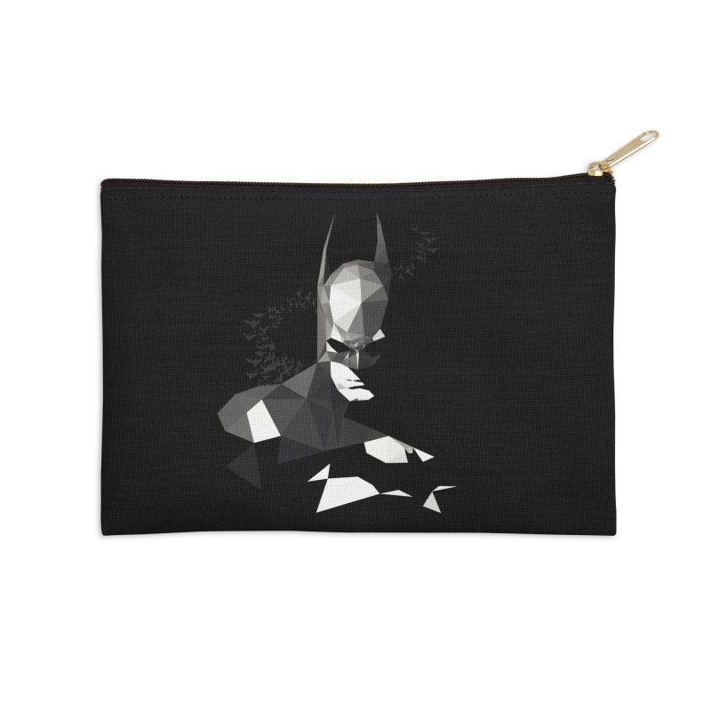 Bat Detective Accessories Zip Pouch by ToySkull