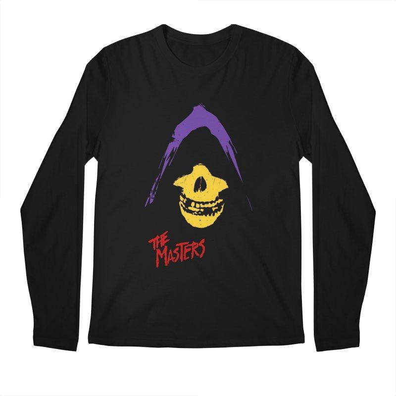 Skeletor's Fiend Club Men's Longsleeve T-Shirt by ToySkull