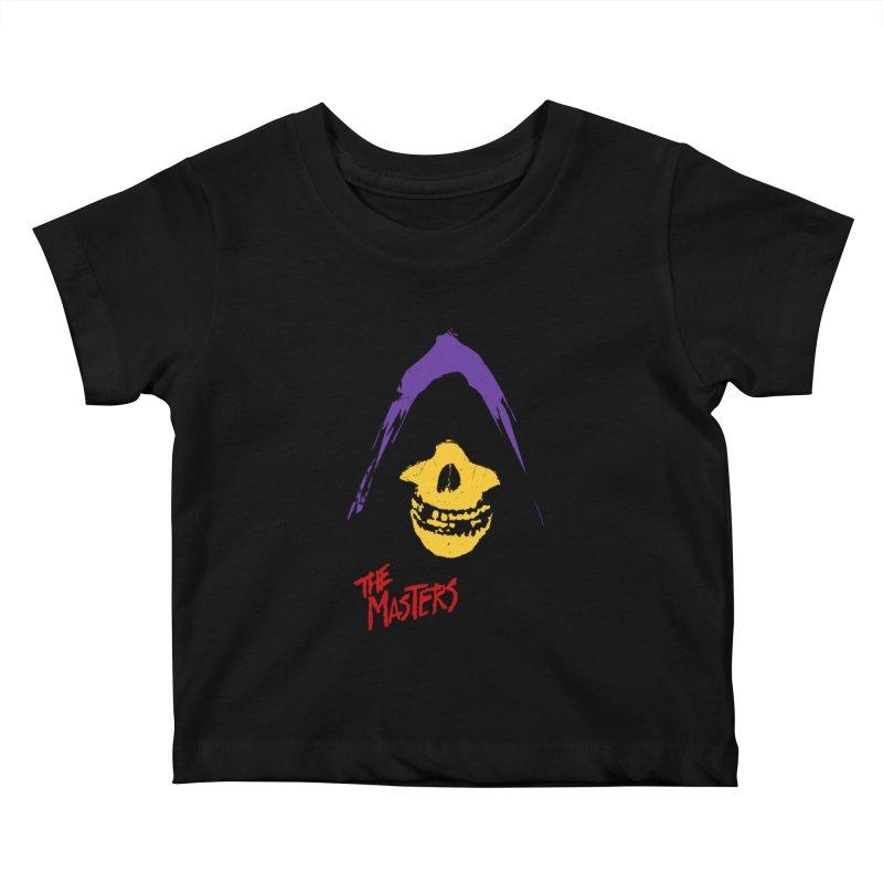 Skeletor's Fiend Club Kids Baby T-Shirt by ToySkull