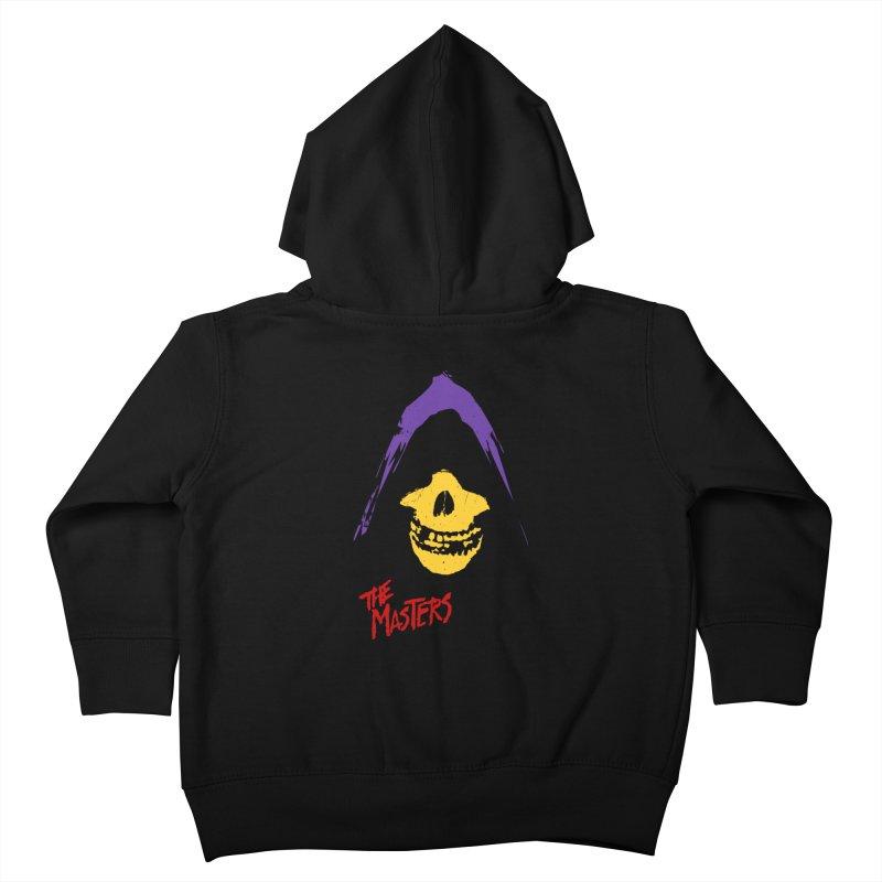 Skeletor's Fiend Club Kids Toddler Zip-Up Hoody by ToySkull