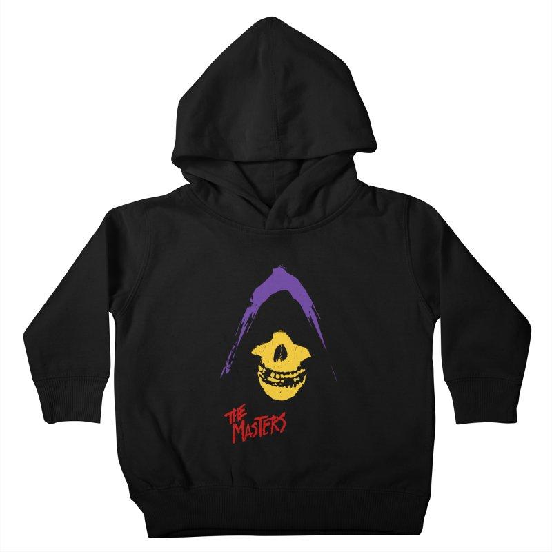 Skeletor's Fiend Club Kids Toddler Pullover Hoody by ToySkull