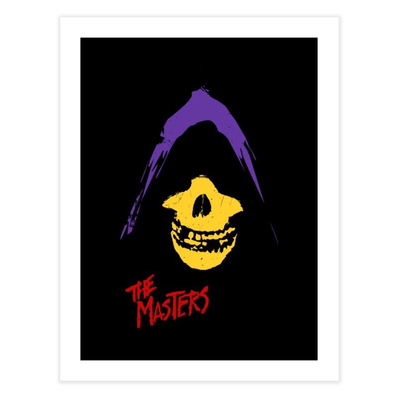 Skeletor's Fiend Club Home Fine Art Print by ToySkull