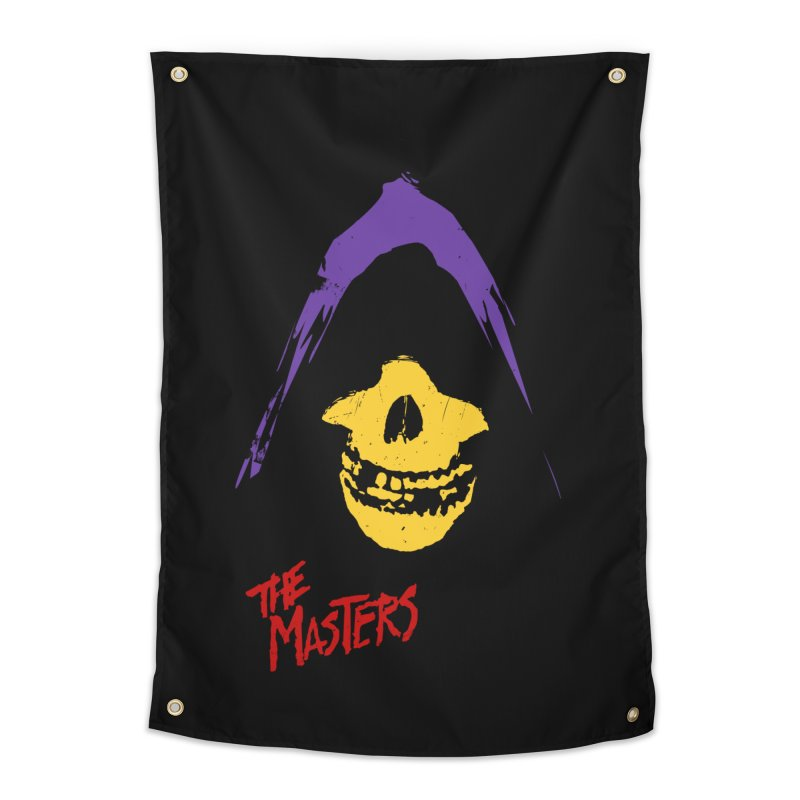 Skeletor's Fiend Club Home Tapestry by ToySkull