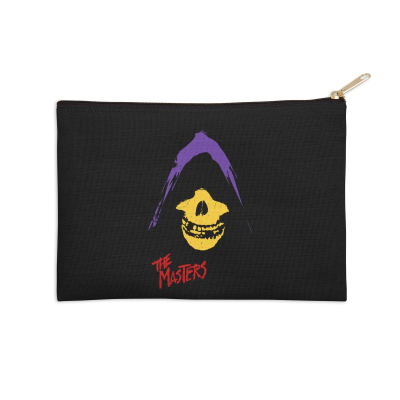Skeletor's Fiend Club Accessories Zip Pouch by ToySkull