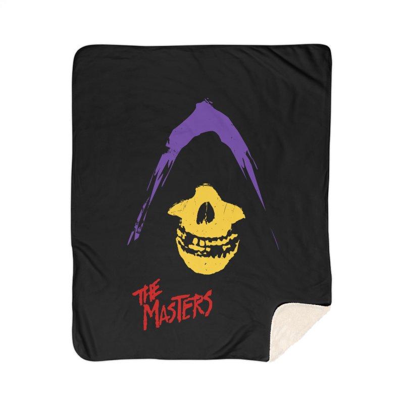 Skeletor's Fiend Club Home Blanket by ToySkull