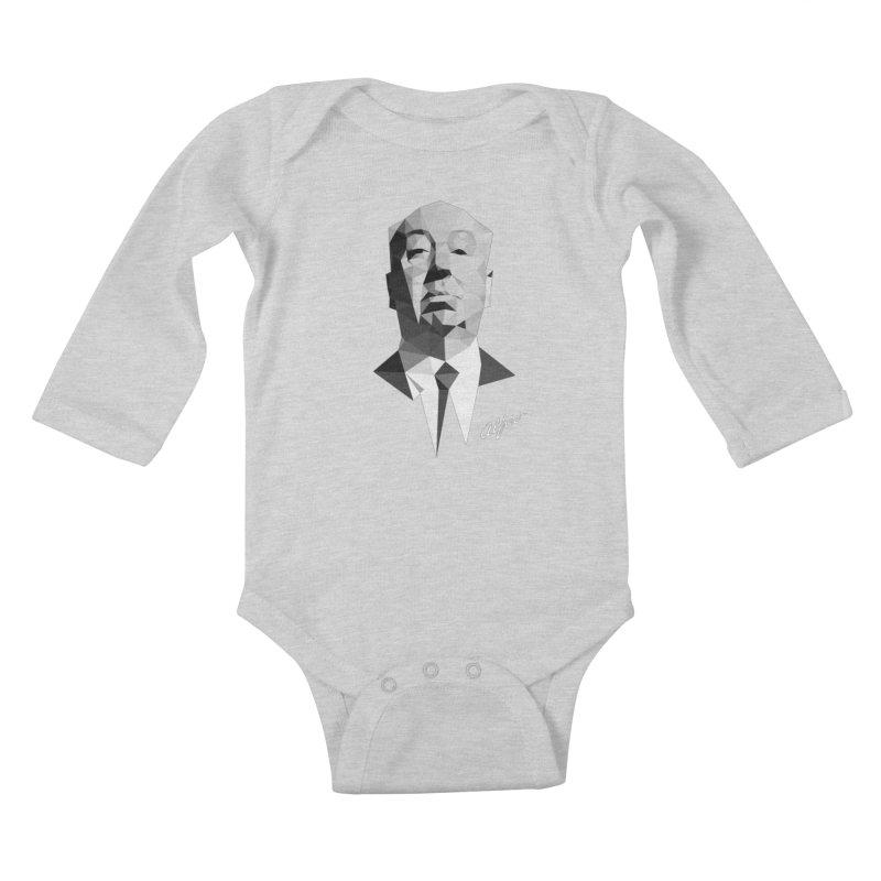Alfred Kids Baby Longsleeve Bodysuit by ToySkull