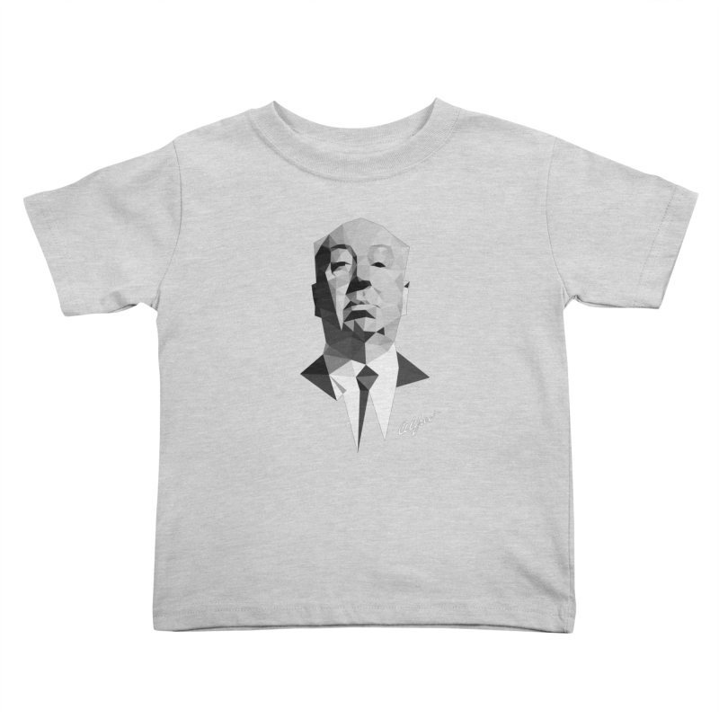 Alfred Kids Toddler T-Shirt by ToySkull