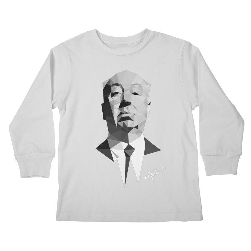 Alfred Kids Longsleeve T-Shirt by ToySkull