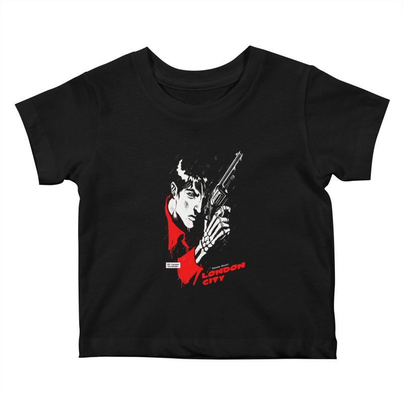 London City Kids Baby T-Shirt by ToySkull