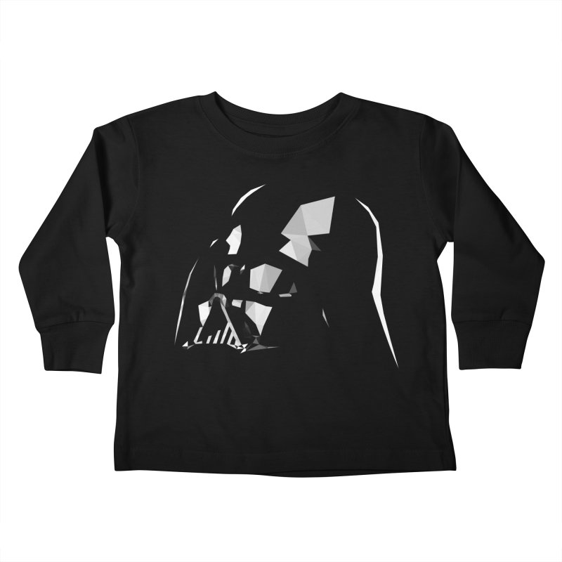 Lord of the Dark Side Kids Toddler Longsleeve T-Shirt by ToySkull