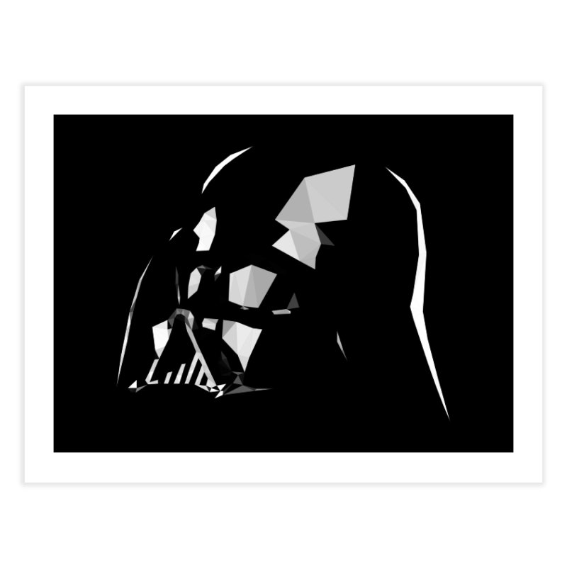 Lord of the Dark Side Home Fine Art Print by ToySkull