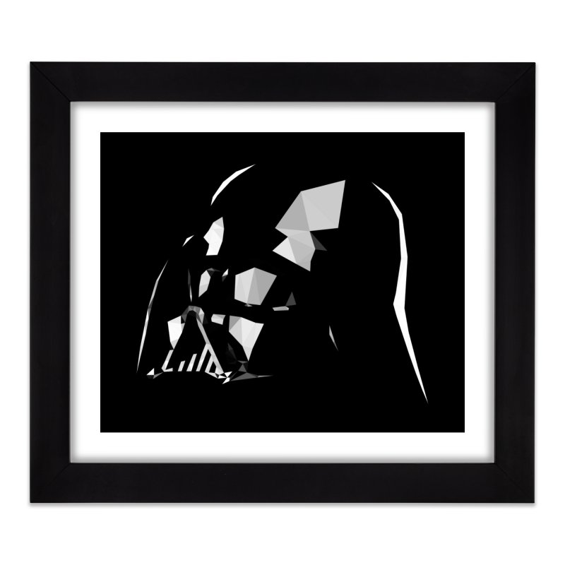 Lord of the Dark Side Home Framed Fine Art Print by ToySkull