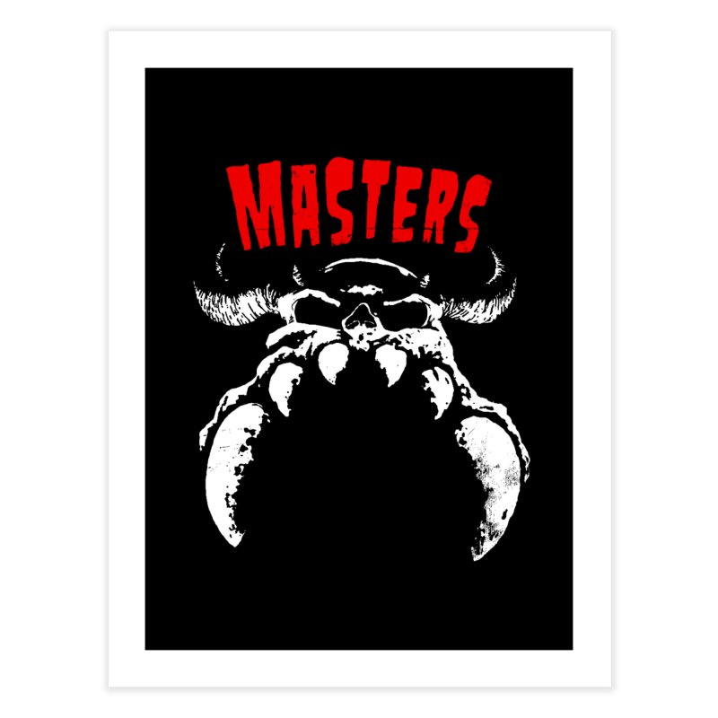 Masters 777 Home Fine Art Print by ToySkull