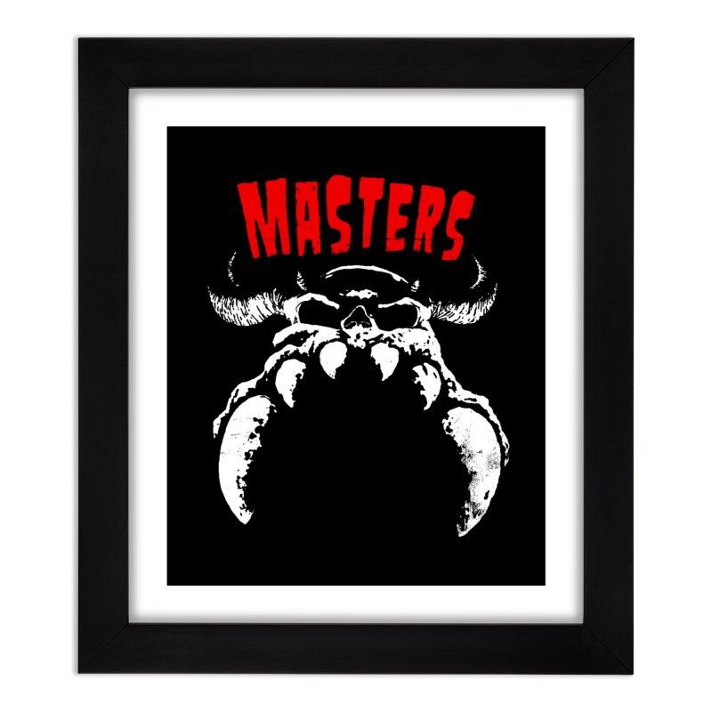 Masters 777 Home Framed Fine Art Print by ToySkull