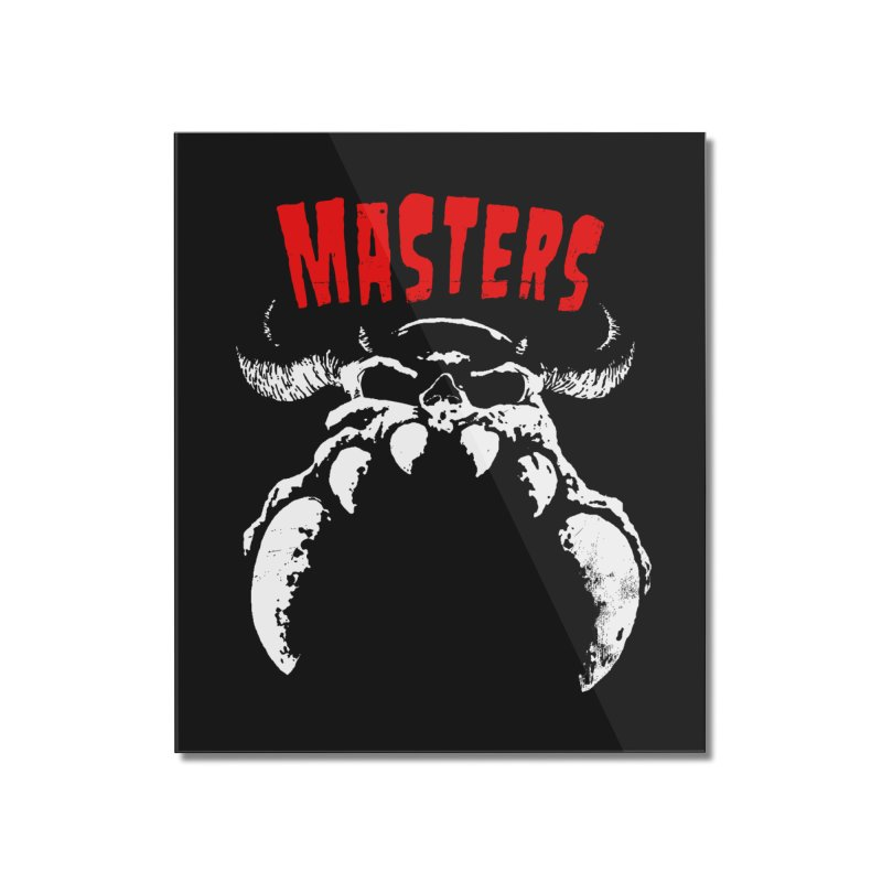 Masters 777 Home Mounted Acrylic Print by ToySkull