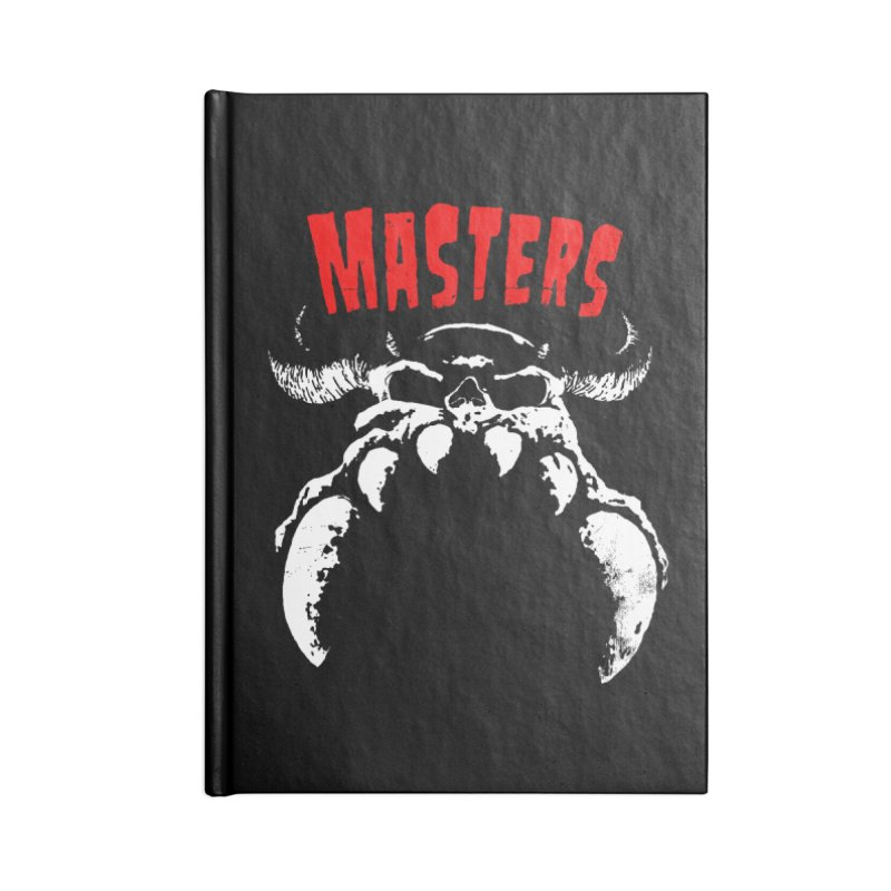 Masters 777 Accessories Notebook by ToySkull