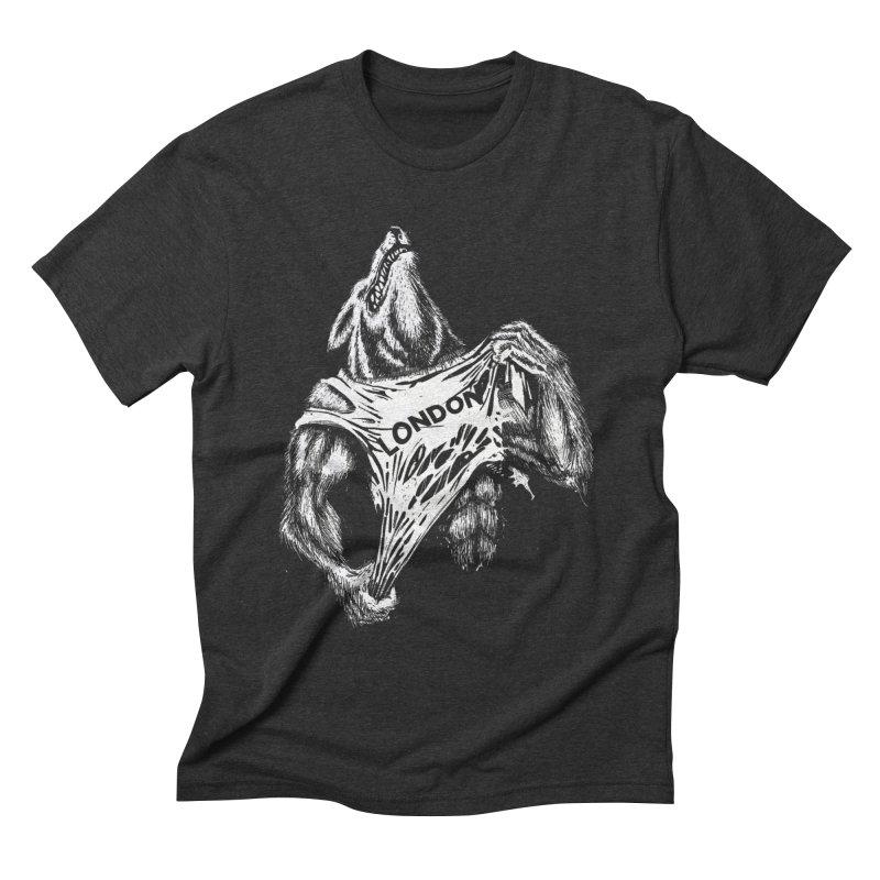 American Werewolf in London Men's T-Shirt by ToySkull