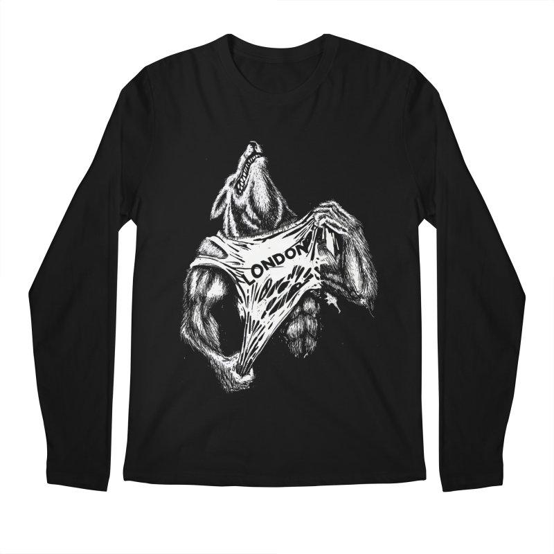 American Werewolf in London Men's Longsleeve T-Shirt by ToySkull