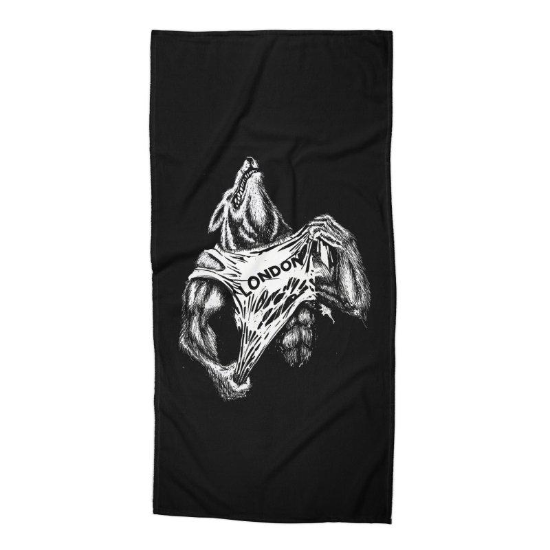 American Werewolf in London Accessories Beach Towel by ToySkull
