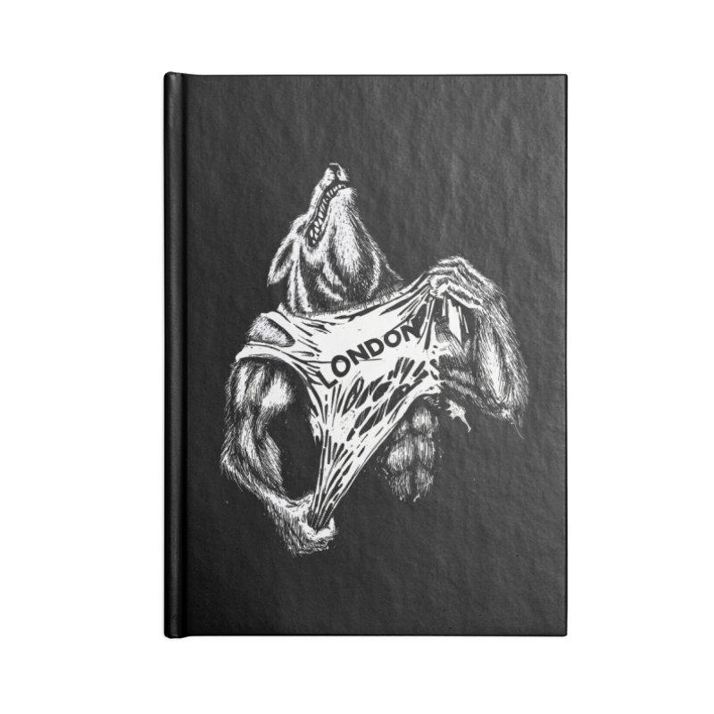 American Werewolf in London Accessories Notebook by ToySkull