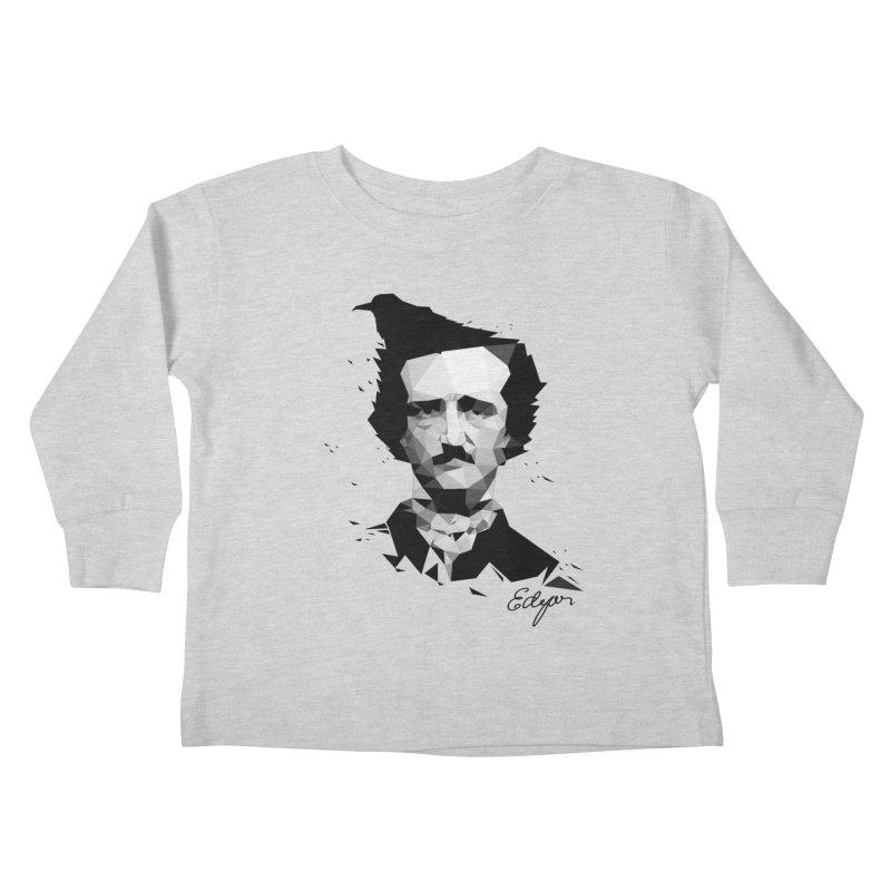 Edgar Kids Toddler Longsleeve T-Shirt by ToySkull