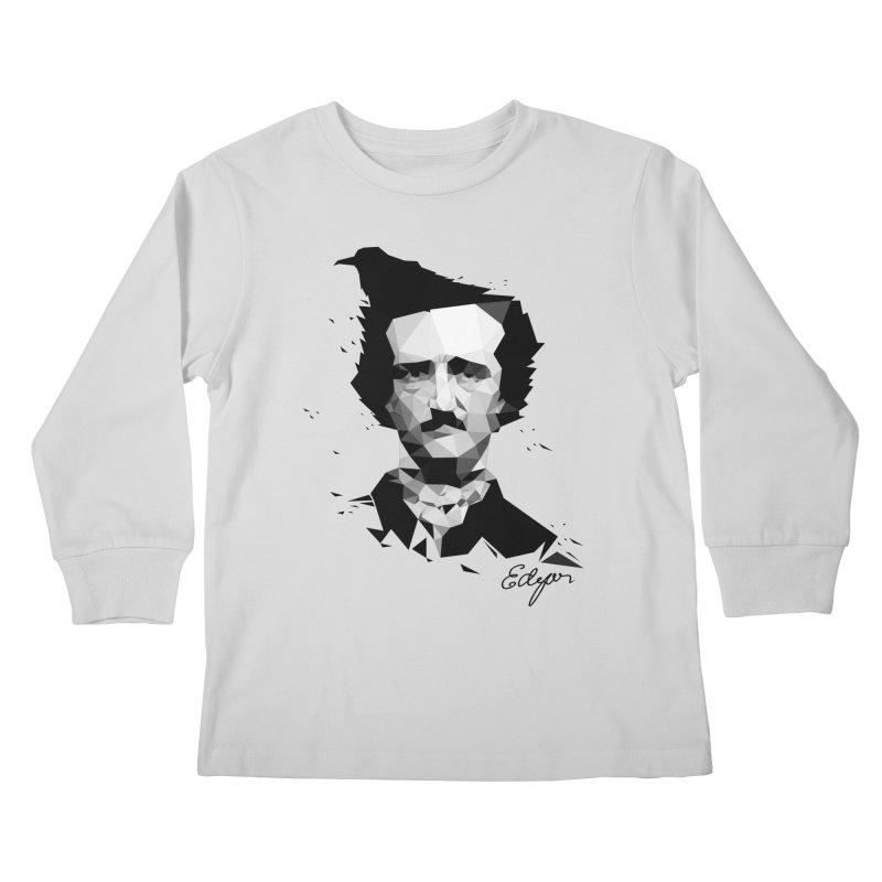 Edgar Kids Longsleeve T-Shirt by ToySkull