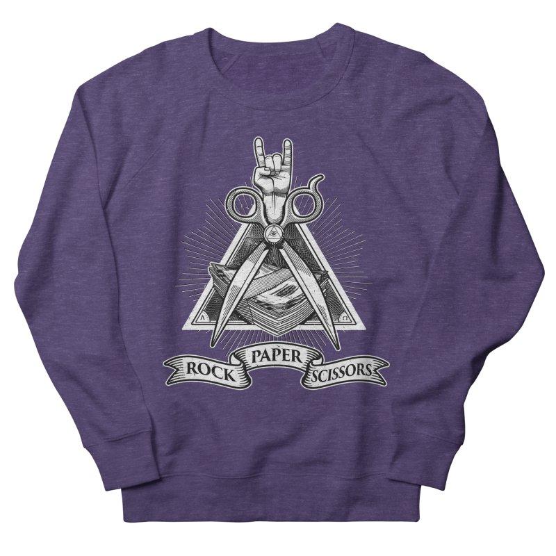 Rock Paper Scissors Women's Sweatshirt by ToySkull