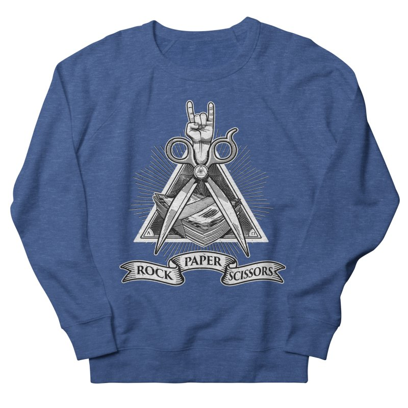 Rock Paper Scissors Men's Sweatshirt by ToySkull