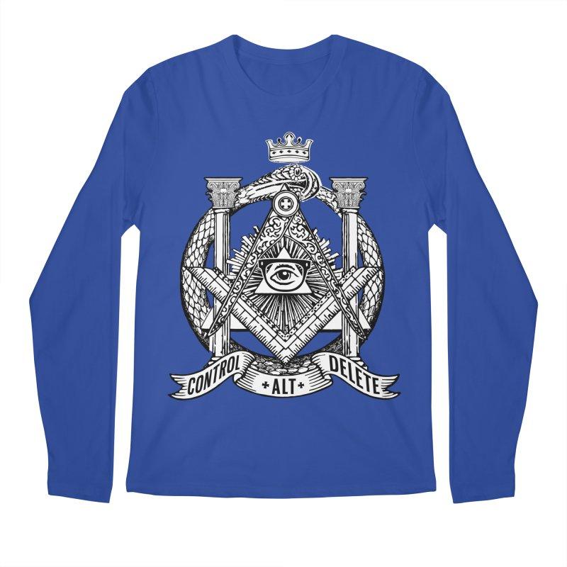 Secret Society Men's Longsleeve T-Shirt by ToySkull
