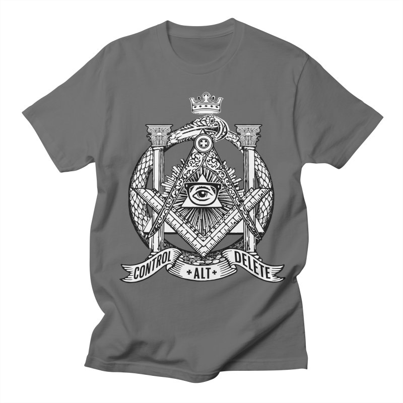 Secret Society Men's T-Shirt by ToySkull