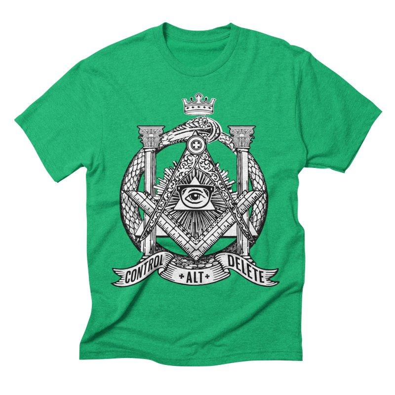 Secret Society Men's T-Shirt by ToySkull