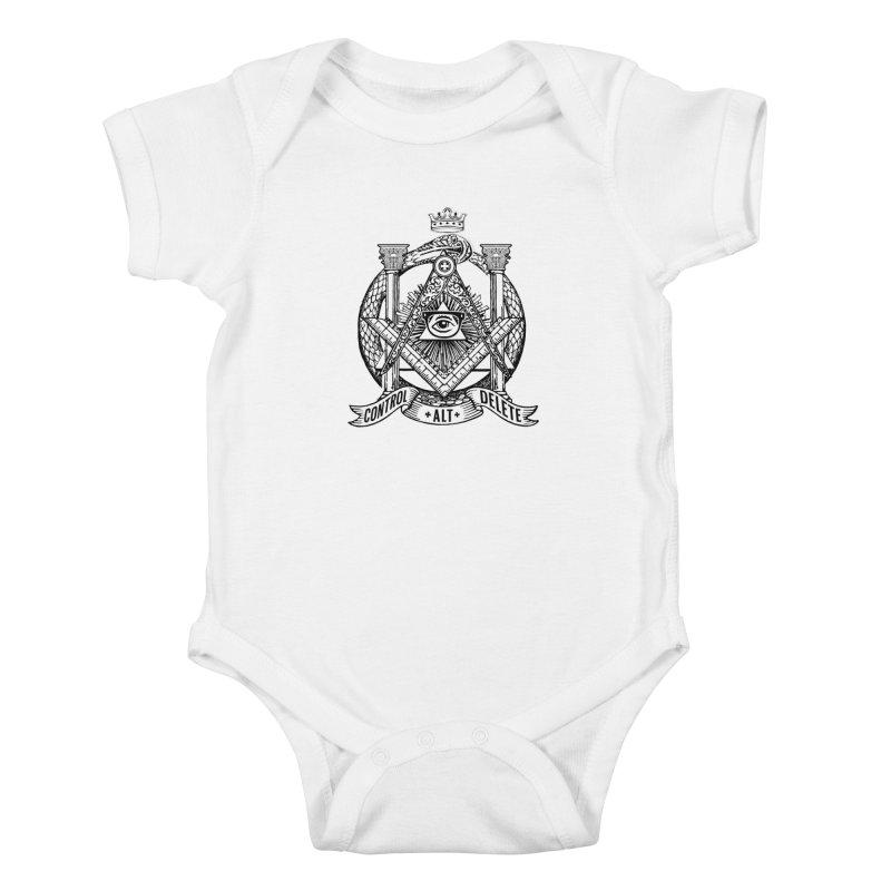 Secret Society Kids Baby Bodysuit by ToySkull