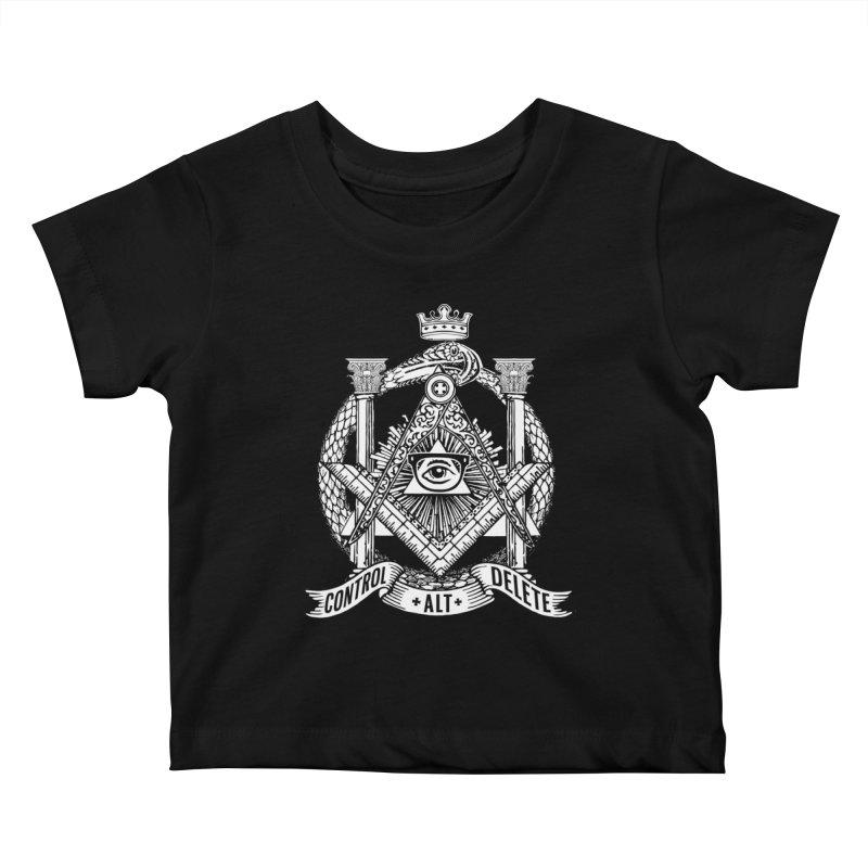 Secret Society Kids Baby T-Shirt by ToySkull