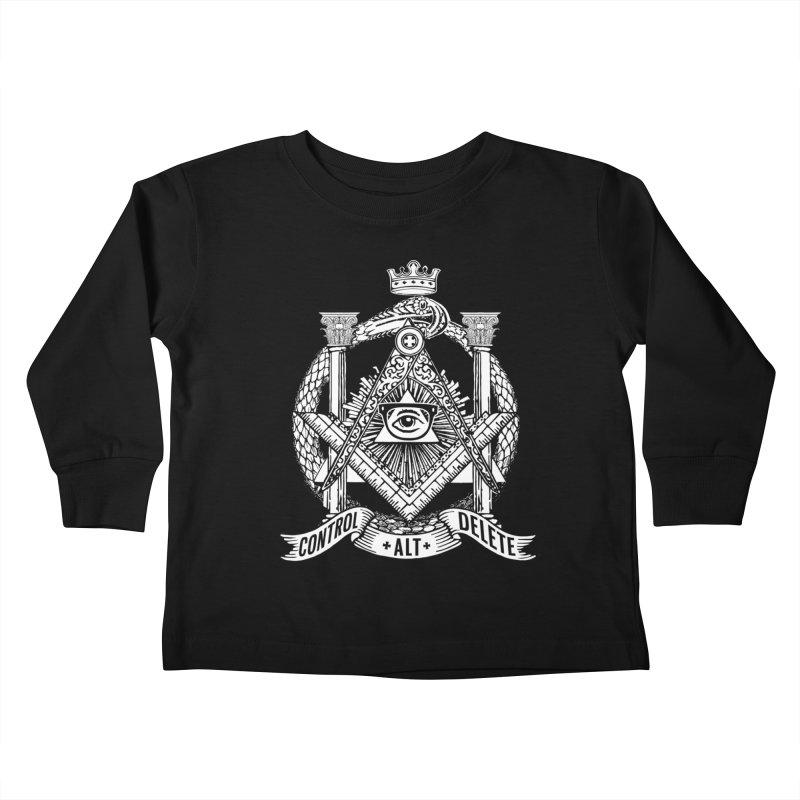 Secret Society Kids Toddler Longsleeve T-Shirt by ToySkull