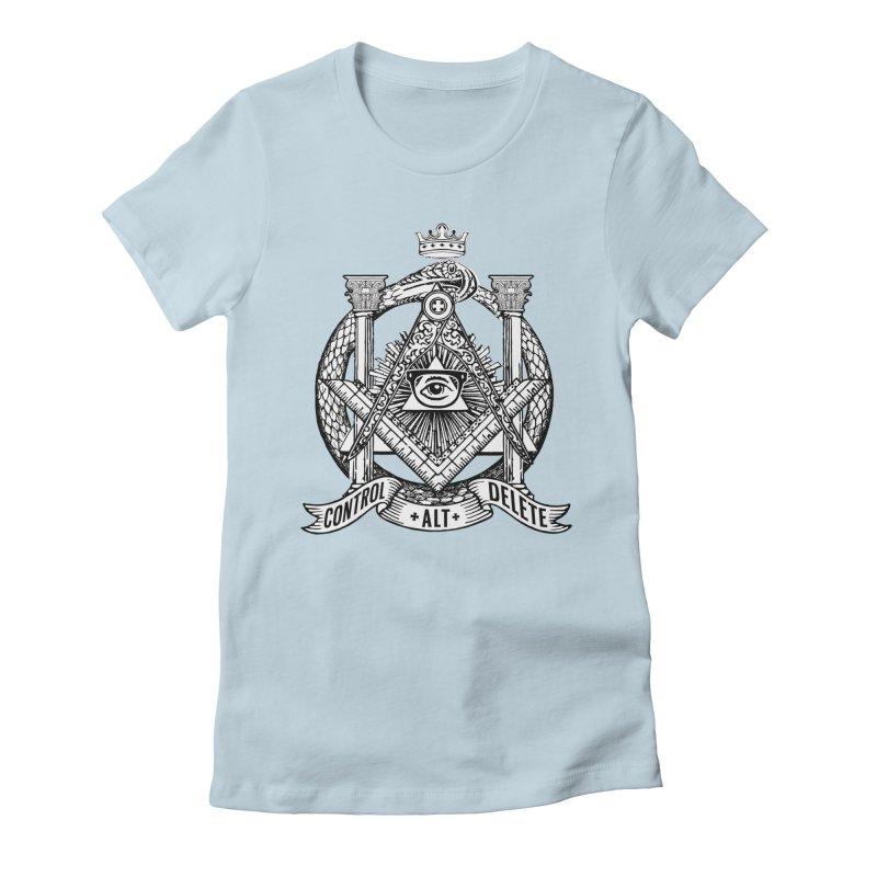 Secret Society Women's T-Shirt by ToySkull