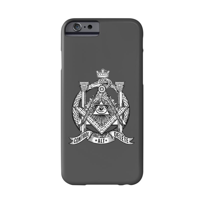 Secret Society Accessories Phone Case by ToySkull