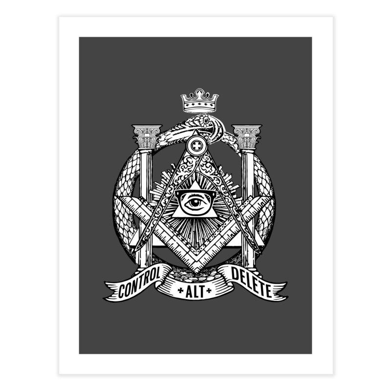 Secret Society Home Fine Art Print by ToySkull