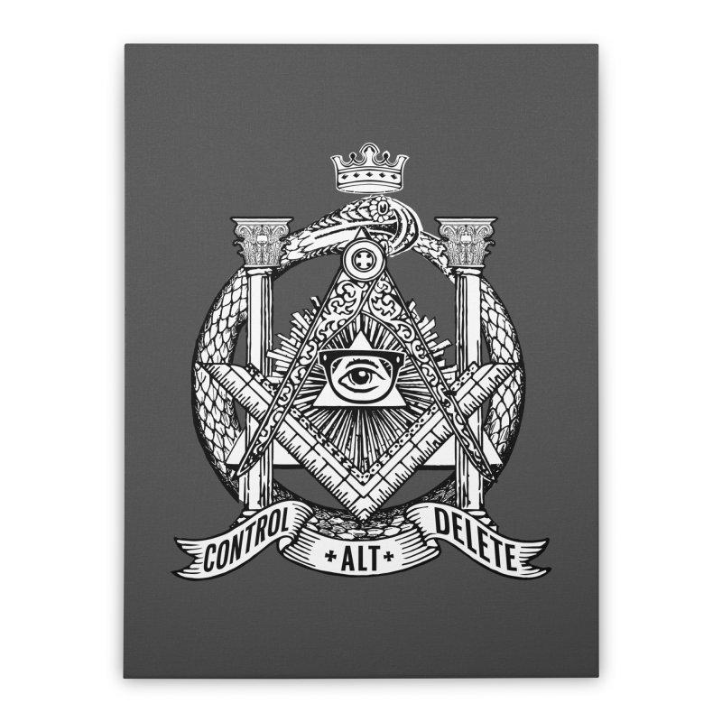 Secret Society Home Stretched Canvas by ToySkull