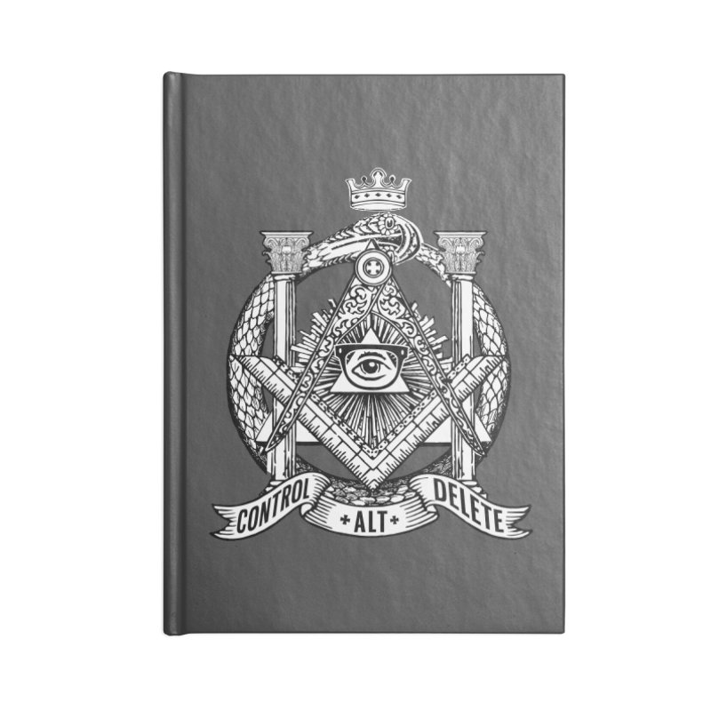 Secret Society Accessories Notebook by ToySkull
