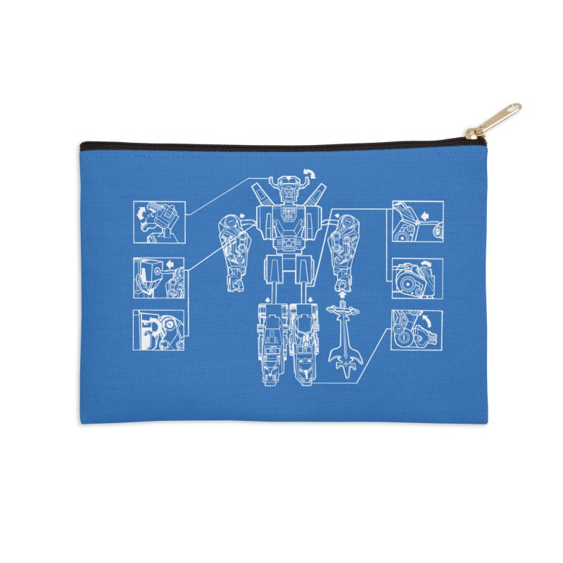 Universe Sold Separately Accessories Zip Pouch by ToySkull