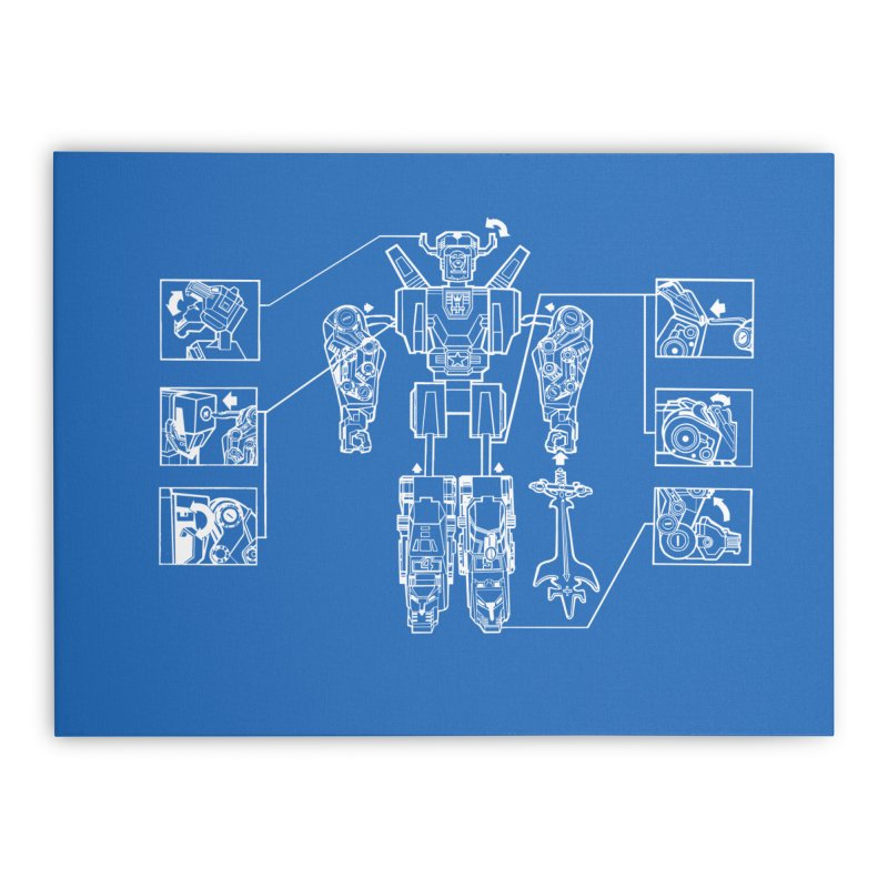 Universe Sold Separately Home Stretched Canvas by ToySkull
